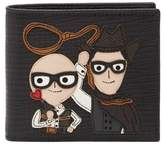 Dolce & Gabbana Applique Bifold Leather Wallet