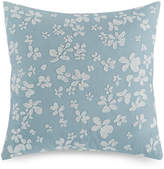 "Calvin Klein Dotted Floral 18"" Square Decorative Pillow"