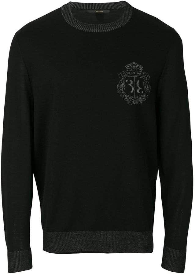 Billionaire crew neck sweater