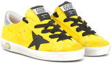 Golden Goose Deluxe Brand Kids - star patches sneakers - kids - Cotton/Leather/Suede/rubber - 28