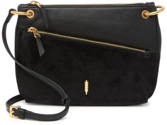 THACKER Leila Suede & Leather Crossbody Bag