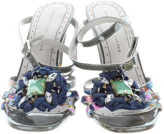 Marc Jacobs Khaki Cloth Sandals