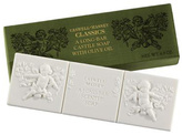 Caswell-Massey White Cherub Long Bar Castile Soap with Olive Oil