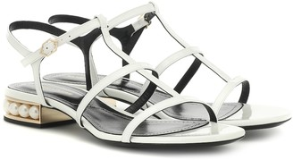 Nicholas Kirkwood Casati leather sandals