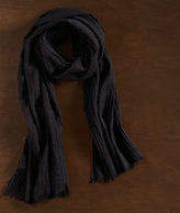 Solid Washed Wool Scarf