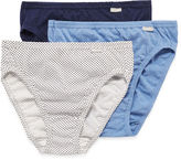 Jockey Elance 3-pk. French-Cut Panties - 1485 Plus