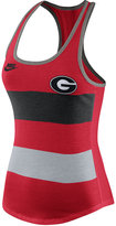 Nike Women's Georgia Bulldogs Stripe Tank Top