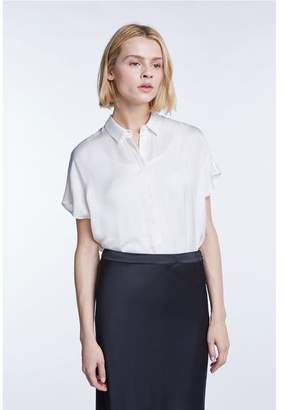 Set Fashion - Shiny Viscose Blouse - 40 / Pristine