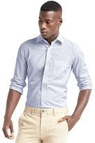 Gap Wrinkle-resistant pinstripe standard fit shirt