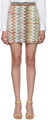 Missoni Multicolor Large Knit Miniskirt