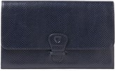 Aspinal of London Classic Travel Lizard-effect Leather Wallet