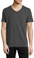 Vince Slub Jersey V-Neck T-Shirt, Gray
