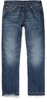 Alexander McQueen Distressed Denim Jeans