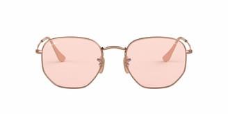 Ray-Ban RB3548N Hexagonal Evolve Photochromic Flat Lenses Sunglasses