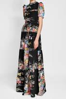 N°21 N21 Printed Silk Maxi Dress