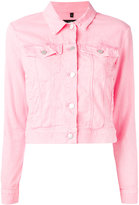 J Brand Skrunken denim jacket - women - Cotton/Spandex/Elastane - XS