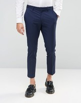 Selected Cropped Skinny Fit Pant with Stretch