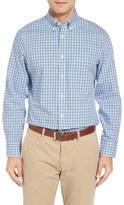 Nordstrom Smartcare TM Regular Fit Check Sport Shirt (Tall)