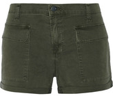J Brand Kai Stretch-Cotton Twill Shorts