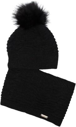Colmar Chunky Knit Bobble Beanie