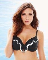 Soma Intimates Laser Cut Sanibel Push Up Bikini Swim Top