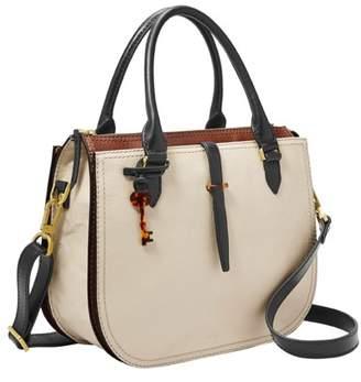 Fossil Ryder Satchel Handbags Neutral Multi