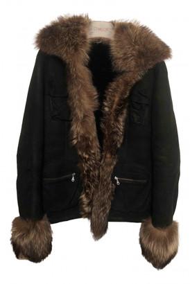 Ventcouvert Black Fur Jackets
