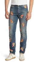 Paul Smith Paisley Slim-Fit Jeans
