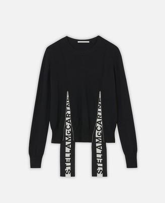 Stella McCartney Logo Band Sweater, Women's