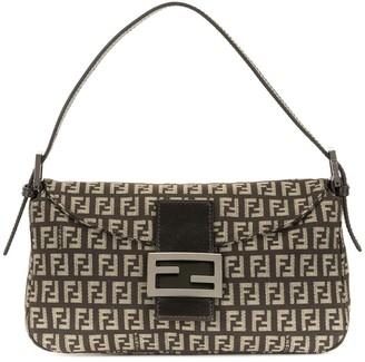Fendi Pre-Owned Zucchino Mamma Baguette top-handle bag