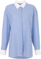 Alexandre Vauthier striped shirt
