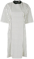 Marni oversized checked dress - women - Cotton/Polyester - 42