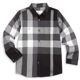 Burberry Little Boy's & Boy's Camber Check Button-Front Shirt