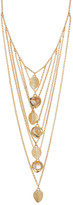 Cole Haan Sandy Quartz Bib Necklace
