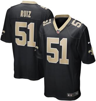 Nike Men's Cesar Ruiz Black New Orleans Saints 2020 NFL Draft First Round Pick Game Jersey