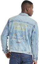 Gap Icon embroidered denim jacket