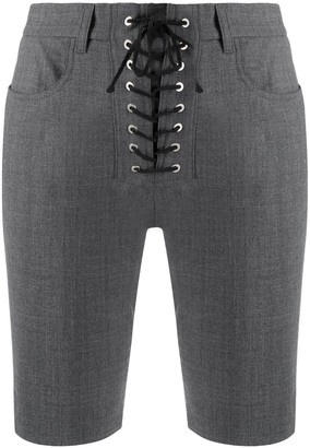 Unravel Project High-Rise Fitted Shorts