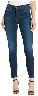 Hudson Barbara High-Waisted Ankle Skinny Jeans in Elevate (Elevate) Women's Jeans