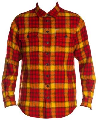 DSQUARED2 Check Drop-Shoulder Shirt