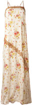 Twin-Set floral print maxi-dress - women - Polyamide/Viscose - 46