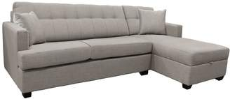 Distinctly Home Francis Double sofabed with Storage chaise