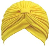 Kobwa(TM) Womens Twist Pleated Stretch Turban Hair Wrap Sun Cap with Kobwa's Keyring