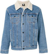 Kappa Kontroll shearling denim jacket