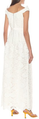 Self-Portrait Exclusive to Mytheresa a Floral lace maxi dress