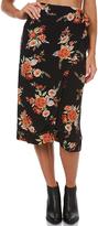 MinkPink Wallflower Wrap Midi Skirt