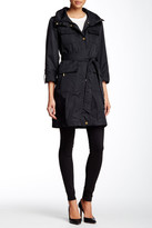 Ellen Tracy Techno Safari Trench Coat
