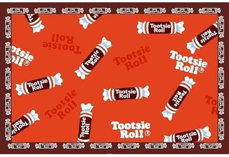 "Fun Rugs Tootsie Roll Candy Area Rug Rug Size: Rectangle 3'3"" x 4'10"""