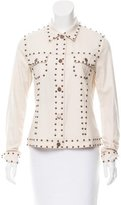 Veronique Branquinho Embellished Button-Up Jacket w/ Tags
