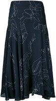 Paul Smith floral print skirt - women - Silk/Polyamide/Acetate/Viscose - 40