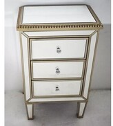 Everly Doleman 3 Drawer Nightstand Quinn
